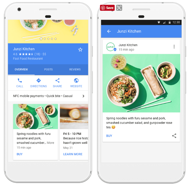 google posts for agents
