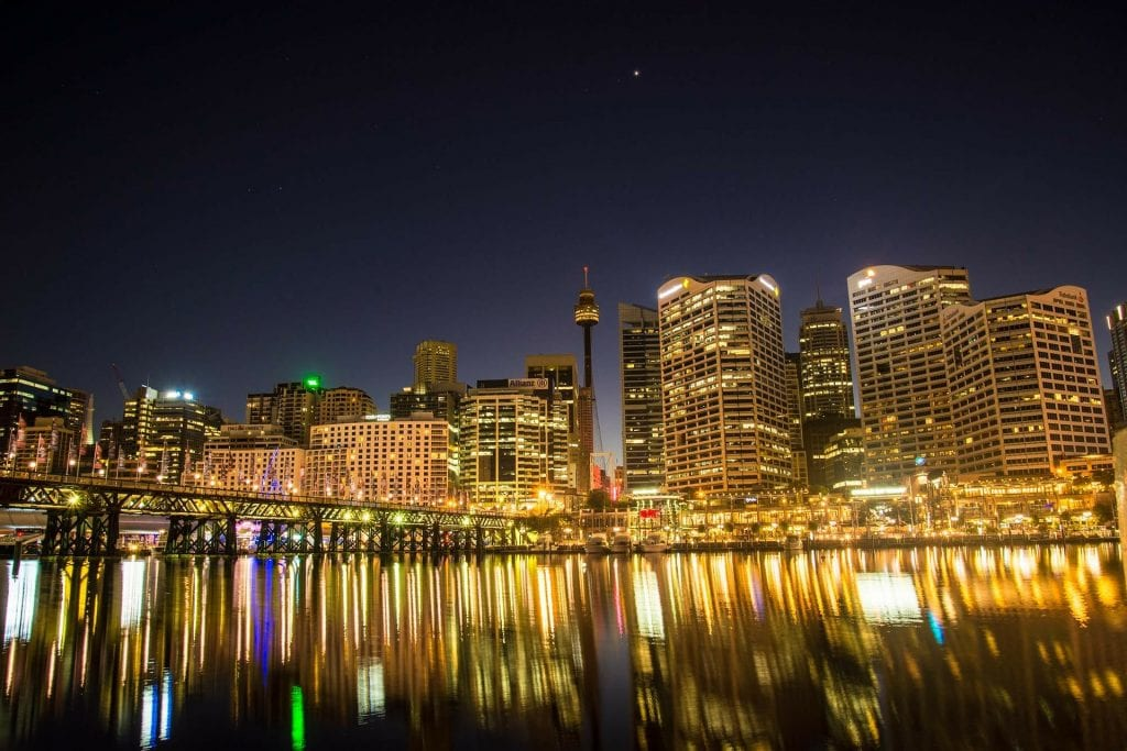 Sydney is beautiful at any time of day or night! Apartments too!