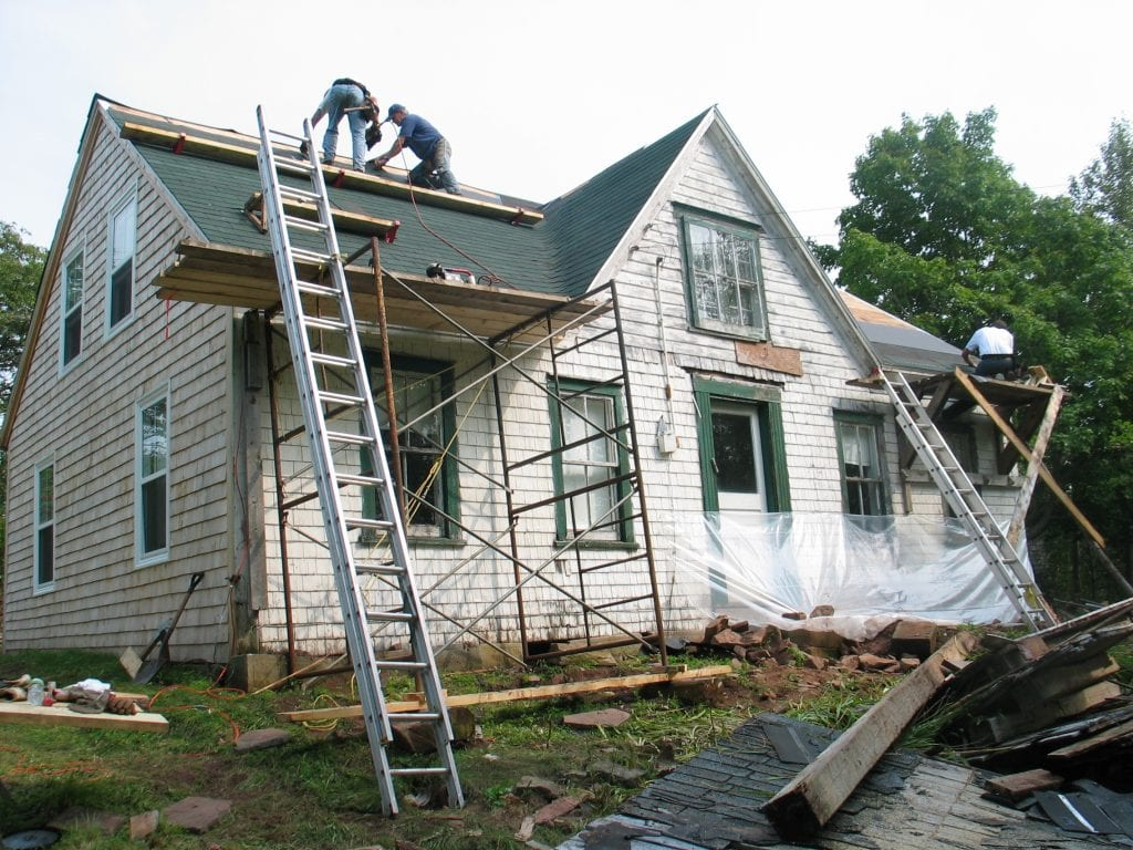 restoring a house